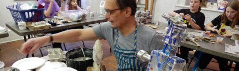 Tin Can Papermaking with Kenneth Polinskie | Tuesday – Thursday, August 15, 16, 17 | 4-6pm